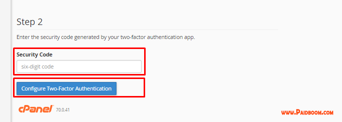 What is two factor authentication4